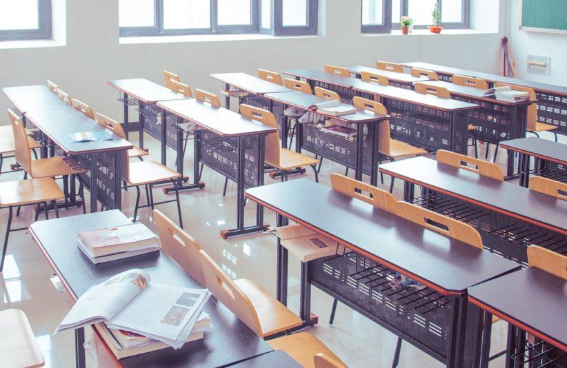 digitális, tankönyv, tanterem, könyv, iskola