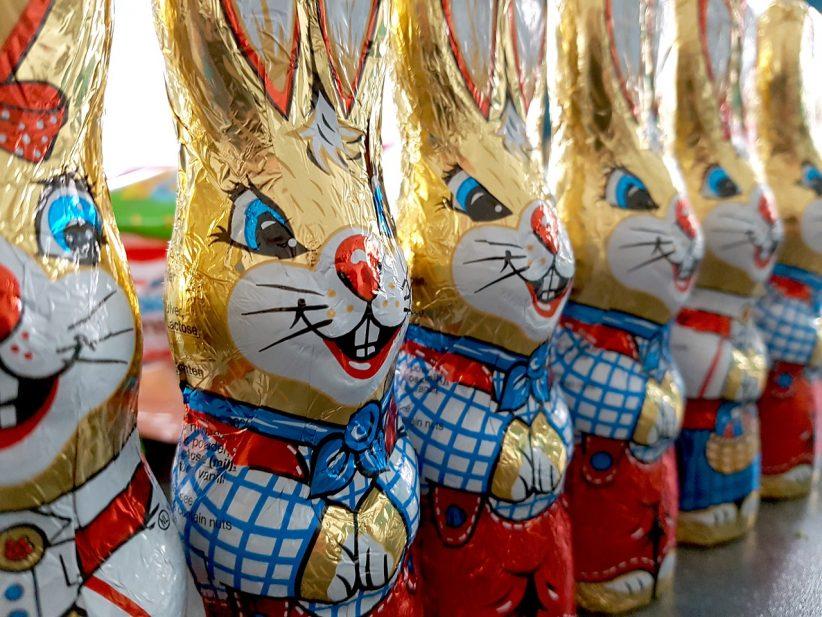 húsvét nyúl csokoládé bírság