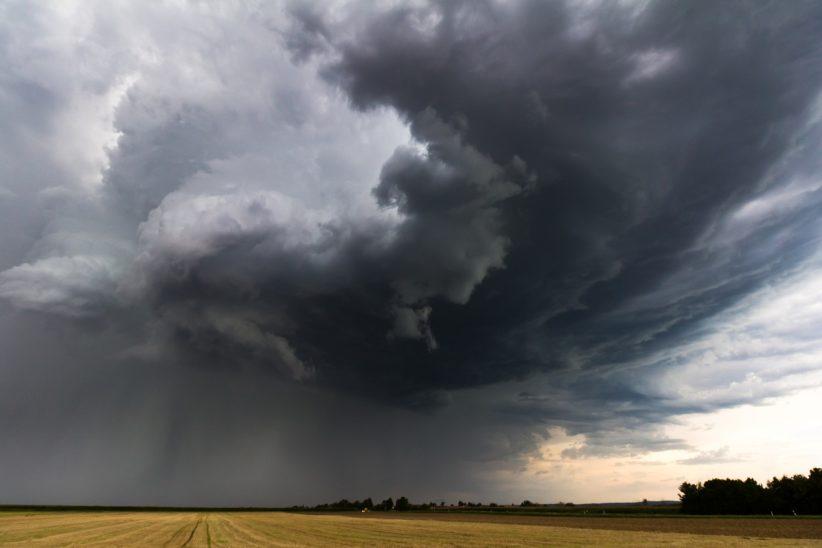 eső vihar