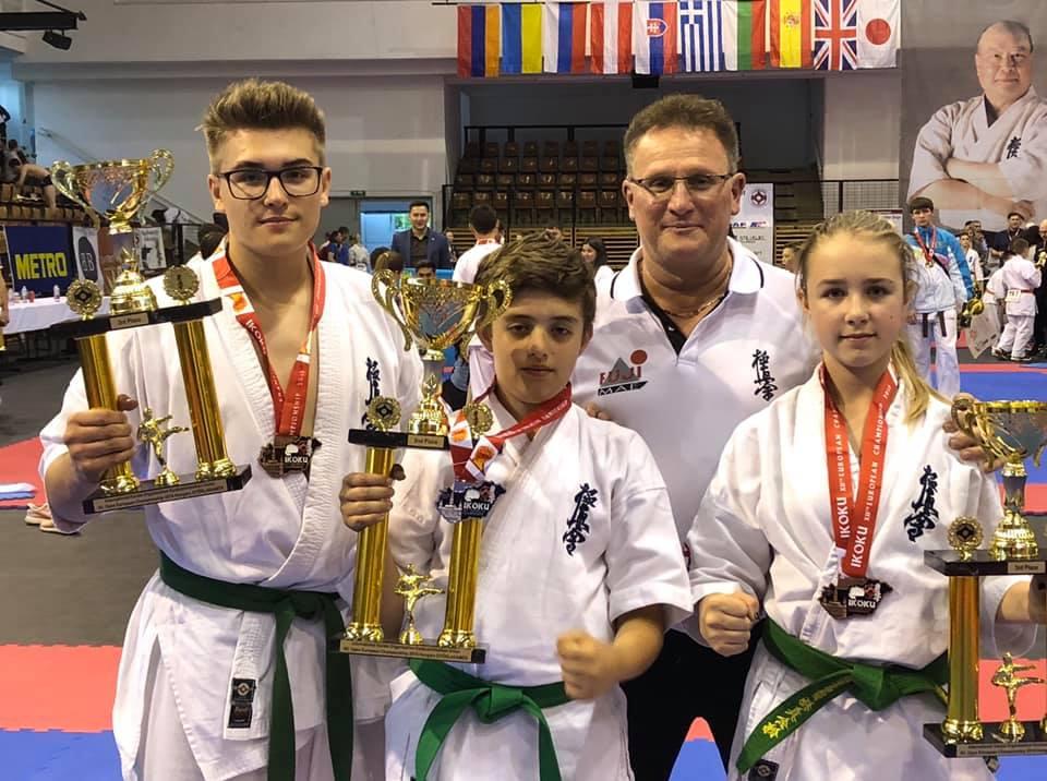 Jól szerepeltek az orosháziak a kyokushin karate Európa-bajnokságon