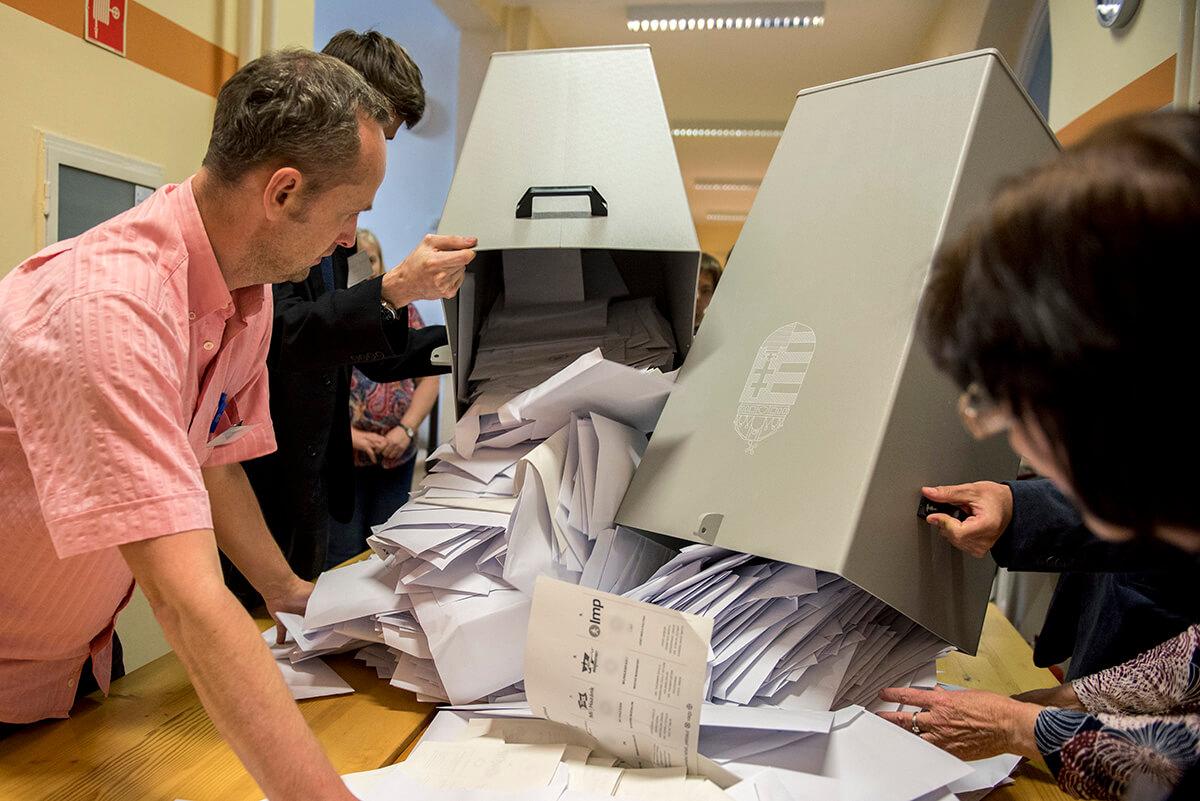 EP-választás – Öt magyarországi párt szerzett mandátumot – előzetes adat (99,9 százalék)
