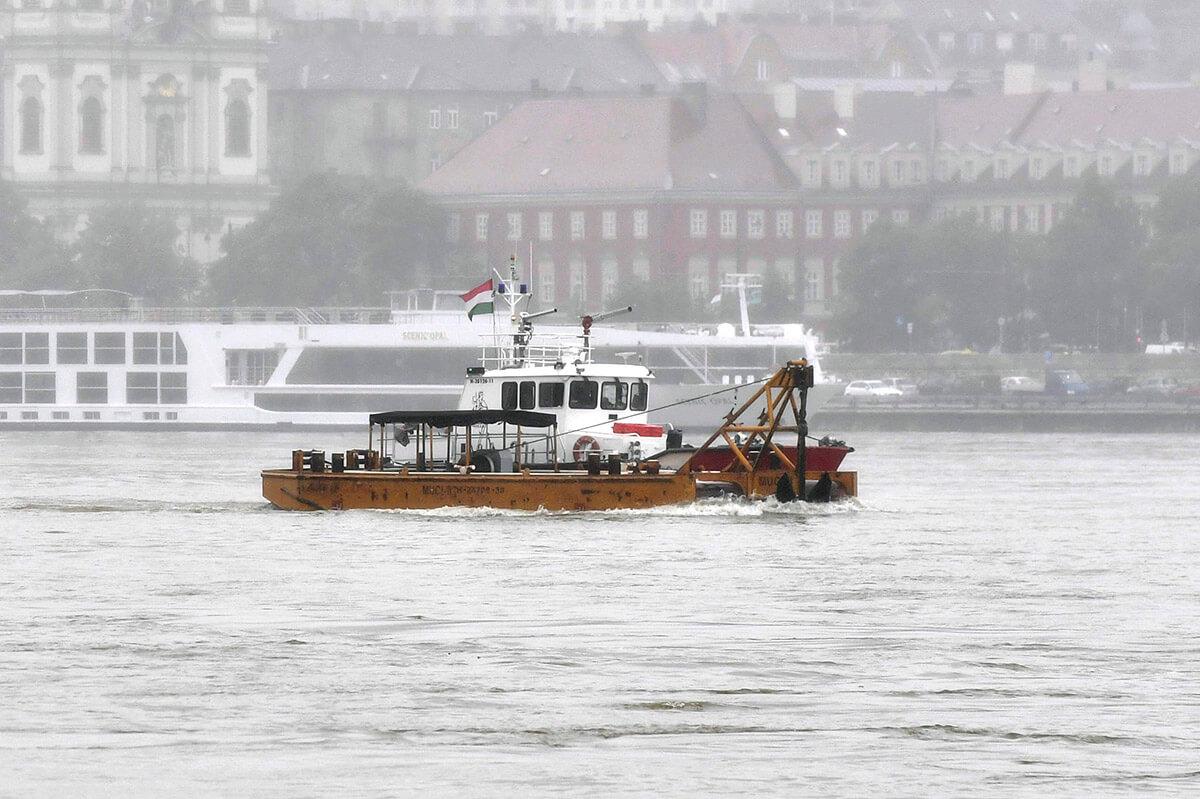 Dunai hajóbaleset – ORFK: büntetőeljárás keretében vizsgálják a történteket