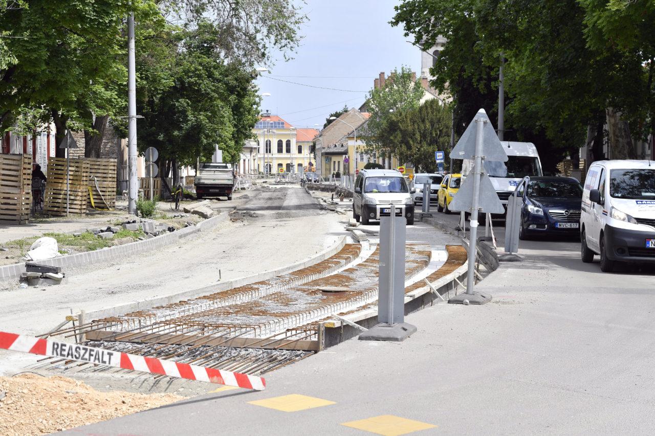 Már épül a Szeged és Hódmezővásárhely közötti tram-train