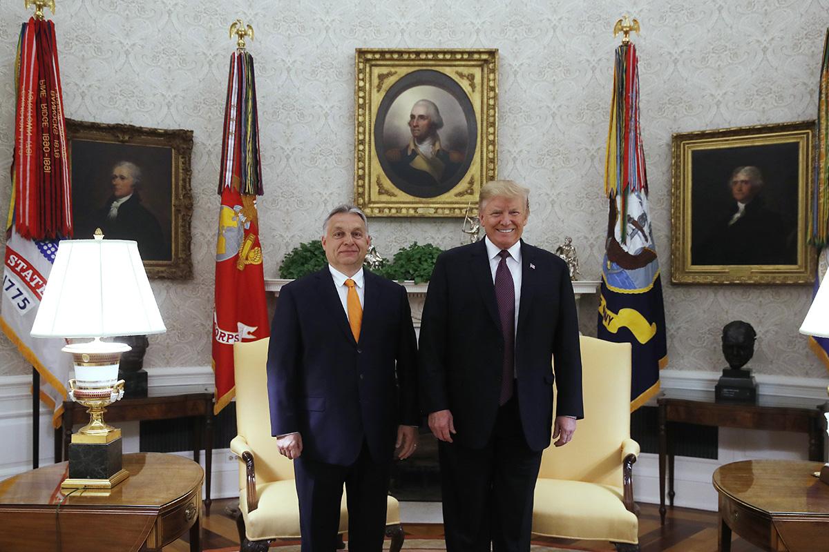 Szijjártó: a Trump-Orbán-találkozóval új dimenzióba léptek a magyar-amerikai kapcsolatok