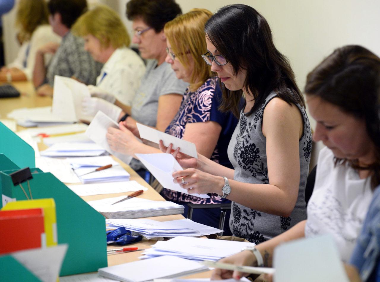 EP-választás: még zajlik a szavazatszámlálás