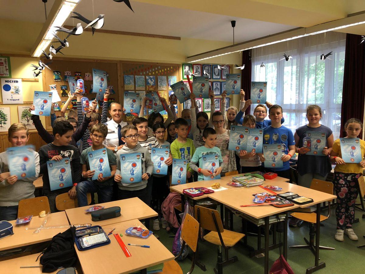 Zebra Akadémia: tesztek és kerékpáros feladatok várták a diákokat