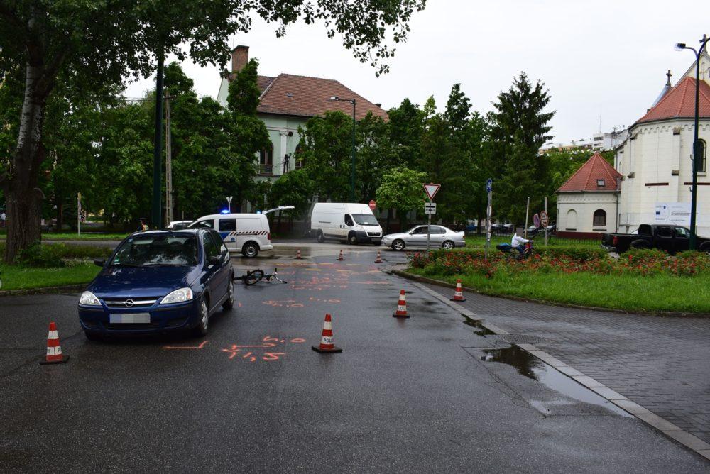 Közlekedési baleset Orosházán, Szabadkígyóson és Szarvason