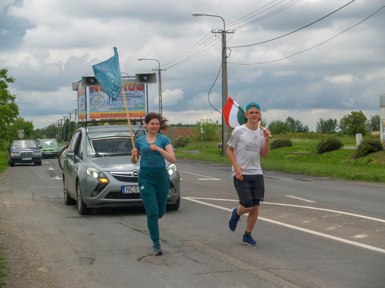 Drogmentes Maraton a szerhasználat elleni küzdelem jegyében