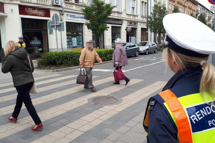 Zebra terv: a gyalogosok nagyobb biztonsága a cél