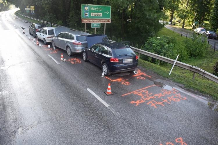 Három közlekedési balesetnél helyszineltek tegnap