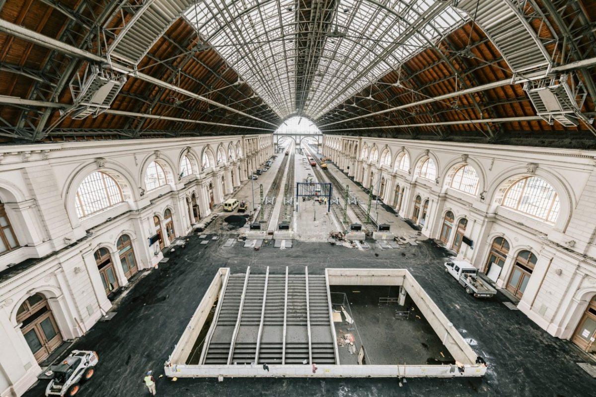 MÁV: befejeződött a felújítás a Keleti pályaudvaron