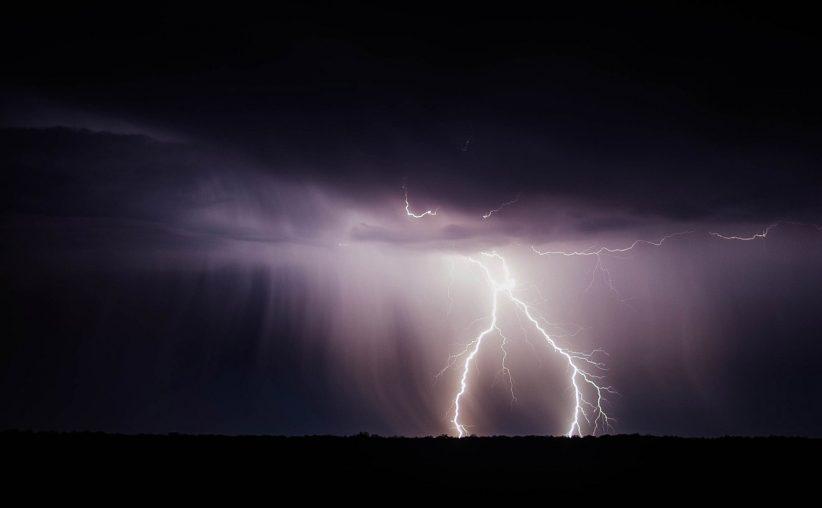 időjárás, villám, vihar