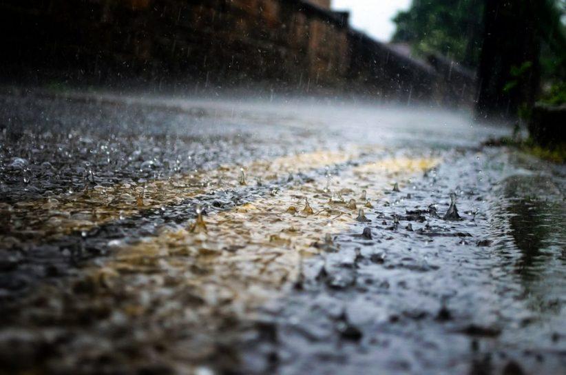 esős, zivatarok, esővíz, lehűlés, eső, esős