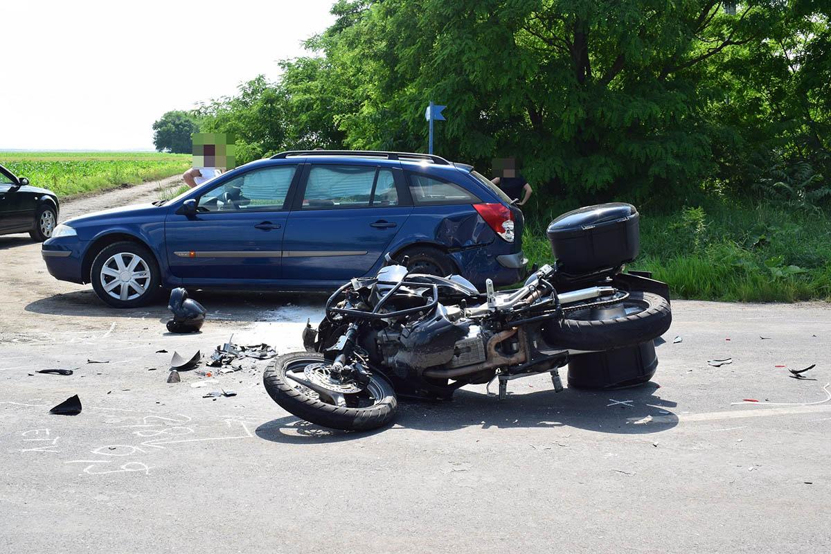 Öt balesetben heten sérültek meg Békés megye útjain
