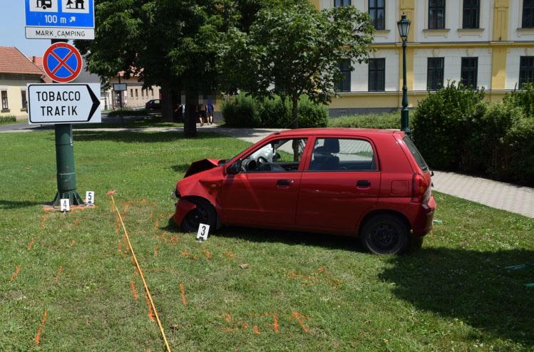 Két közlekedési baleset és két elfogás Békés megyében
