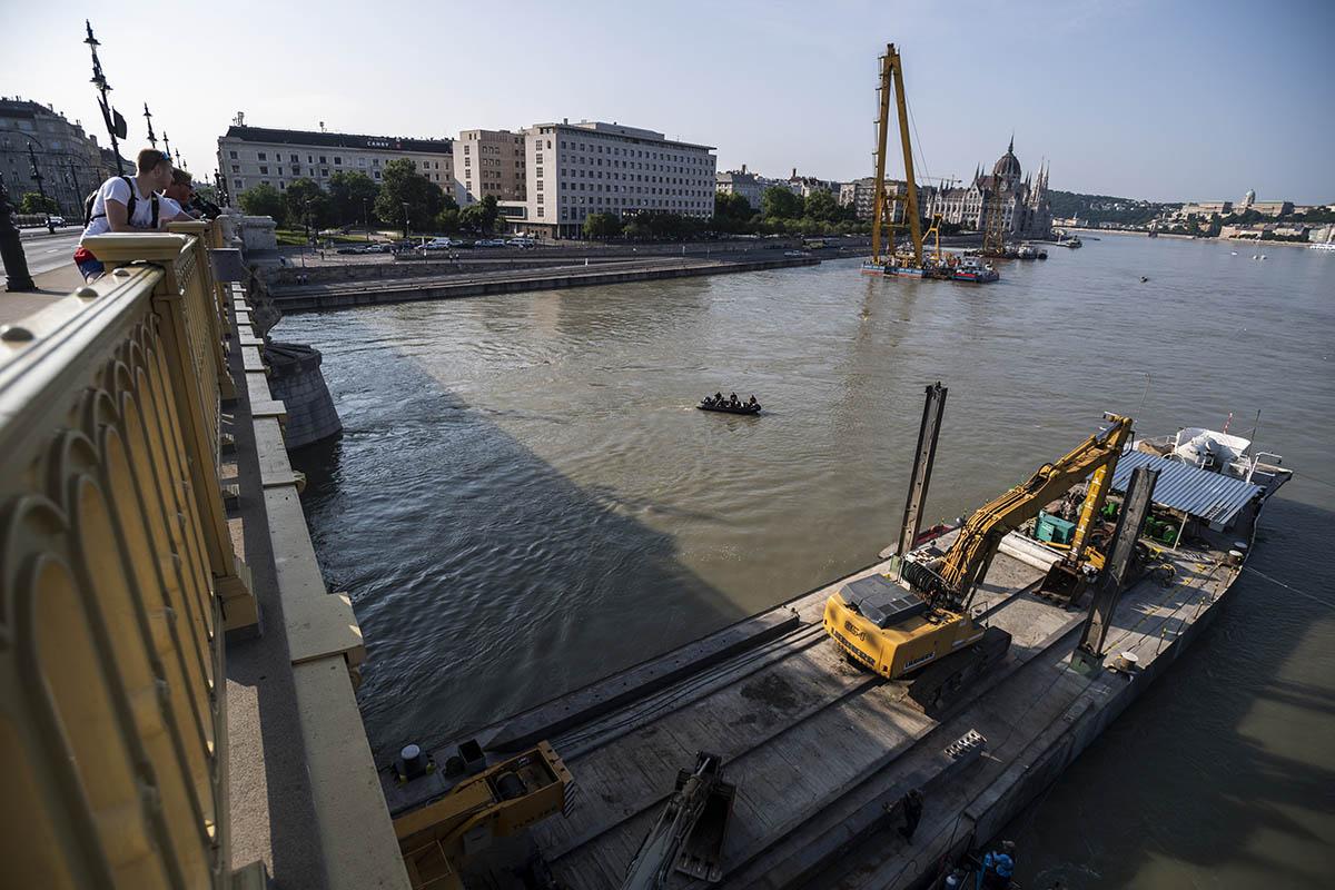 Dunai hajóbaleset – Drónhasználat miatt intézkedtek a rendőrök