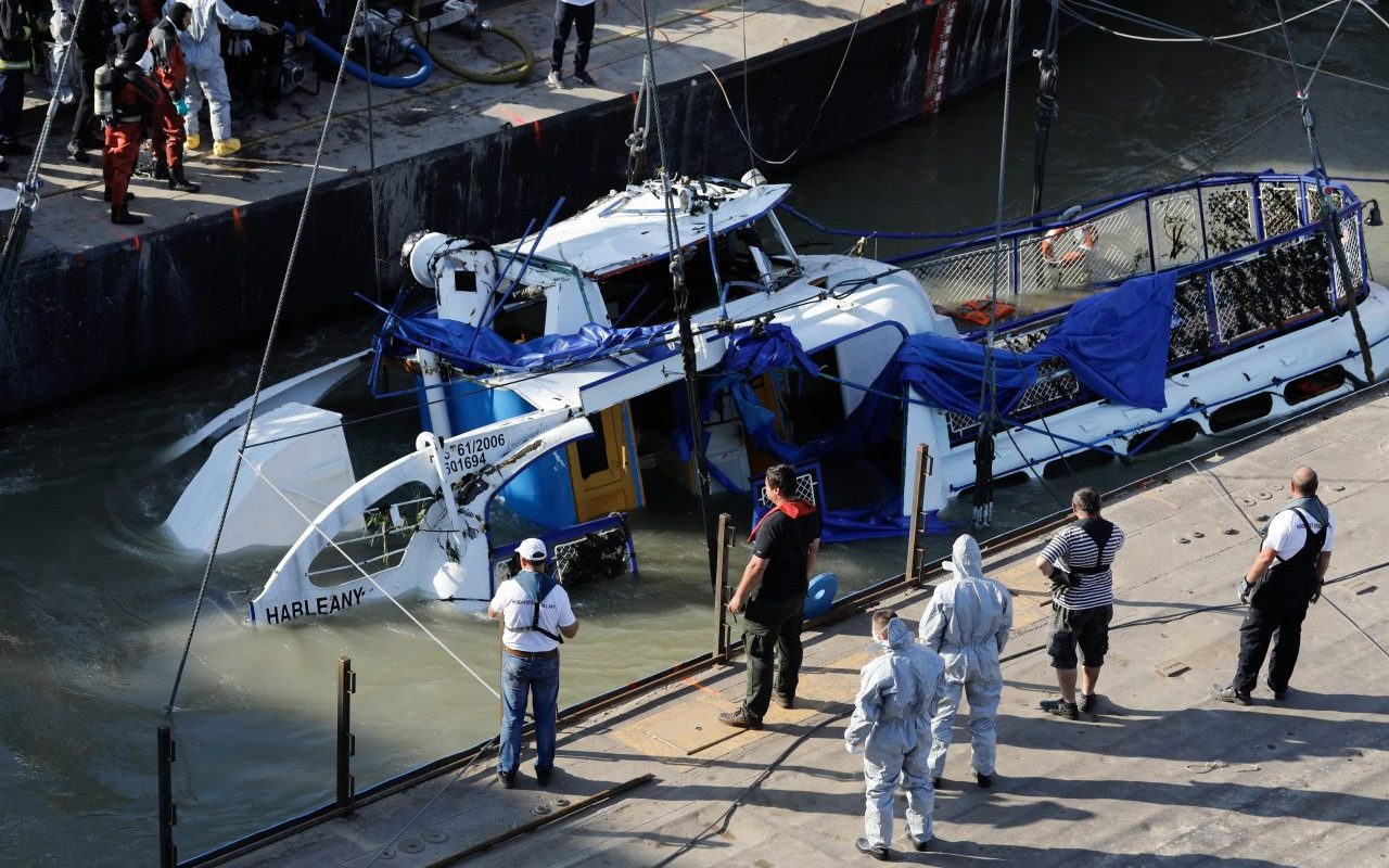 Dunai hajóbaleset – Jogerősen elrendelték a Viking Sigyn kapitányának bűnügyi felügyeletét
