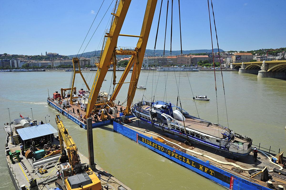 Dunai hajóbaleset – Befizette az óvadékot az ukrán hajóskapitány