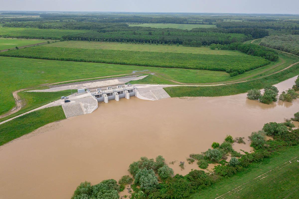 I. fokú árvízvédelmi készültség a Fekete-Körösön, a Kettős-Körösön és a Sebes-Körösön