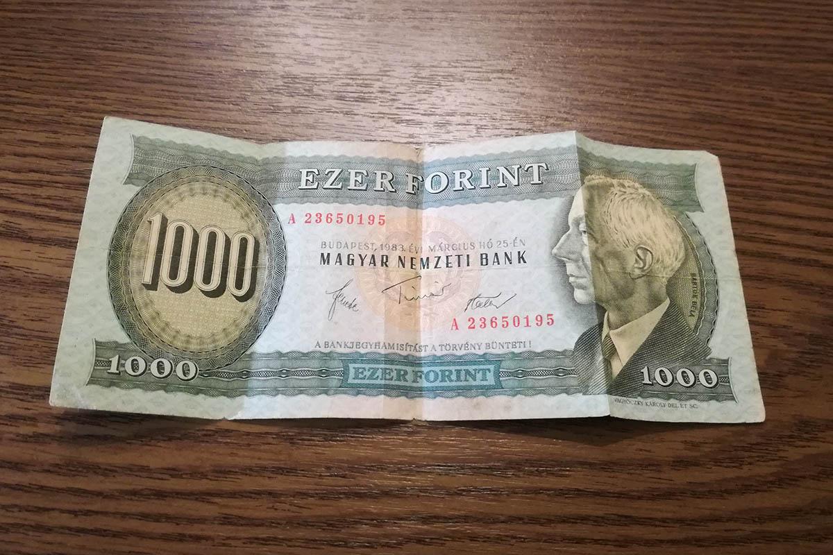 Hamarosan lejár a 20 évvel ezelőtt bevont bankjegyek átváltási határideje