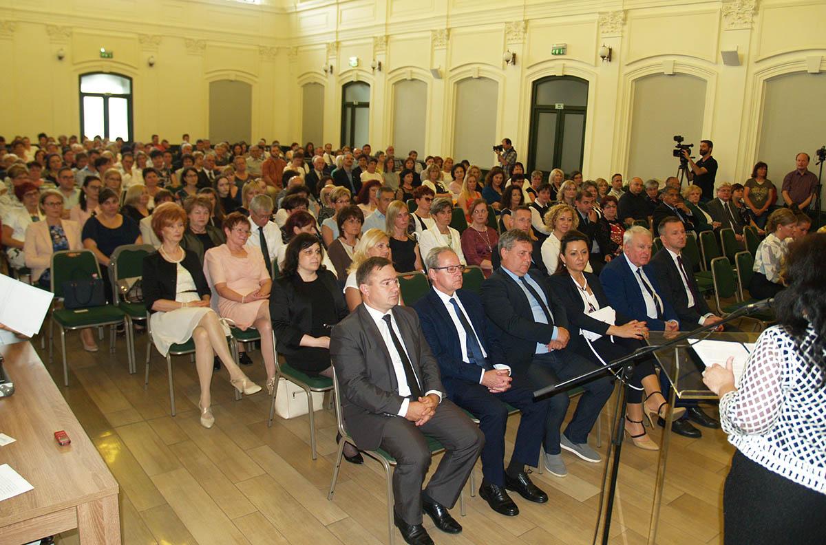 A pedagógusokat ünnepelték Gyulán