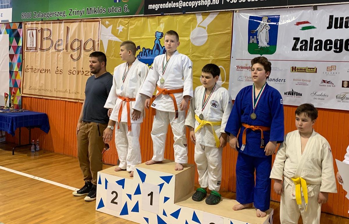 A BM Kano Judo SE versenyzője, Perecz Márk kétszeres diákolimpiai bajnok