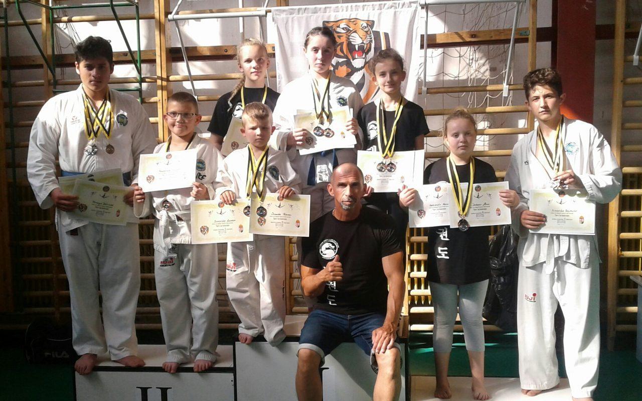 Taekwondo tigrisként küzdöttek