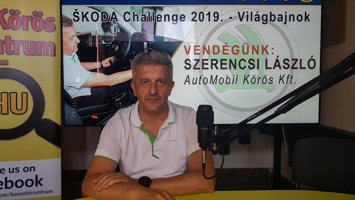 Szerencsi László: a környezetvédelem került előtérbe az idei ŠKODA Challenge-en
