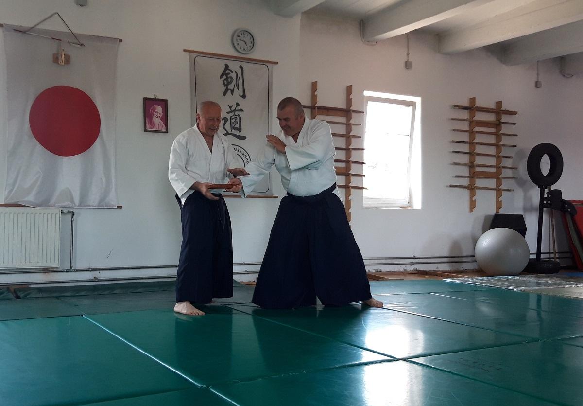 Viharsarki aikido jubileum Békéscsabán