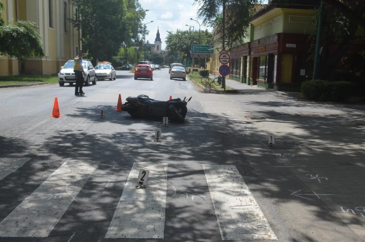 Három közlekedési baleset és egy őrizetbe vétel a tegnapi mérleg