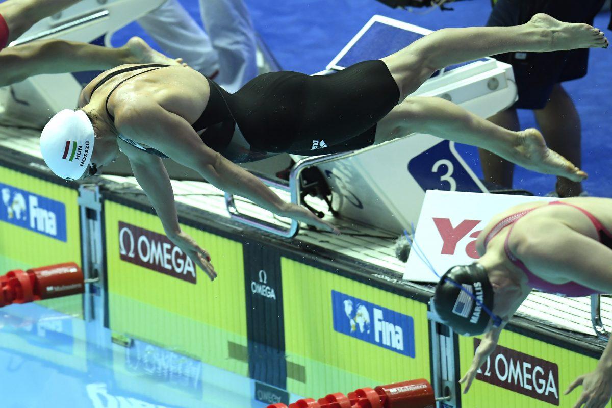 Vizes vb: Hosszú Katinka a legjobb idővel döntős 200 méter vegyesen