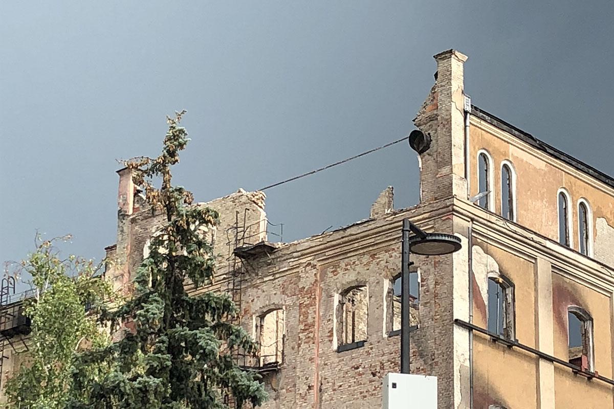 Az István malom szerkezetét is megrongálta a vasárnapi vihar
