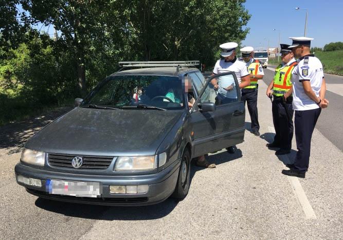 Összehangolt közúti ellenőrzés kezdődik hétfőn az ország egész területén