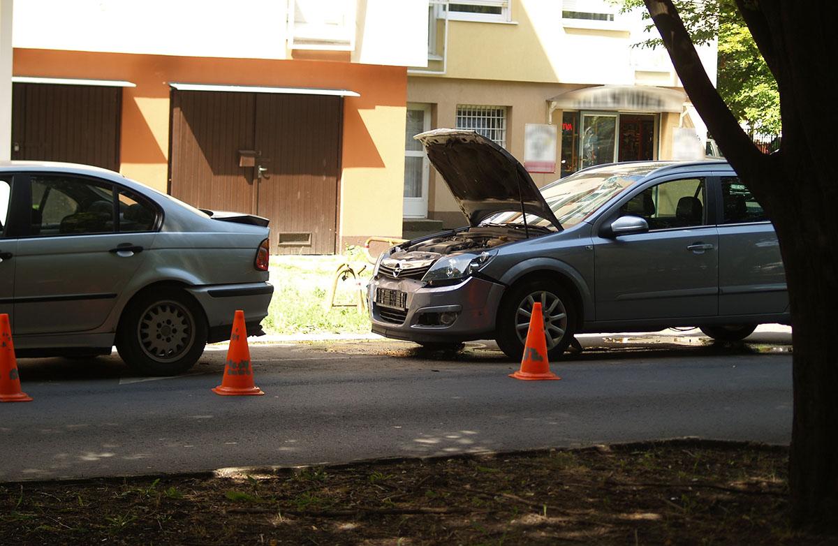 Békéscsabán balesetnél helyszíneltek tegnap