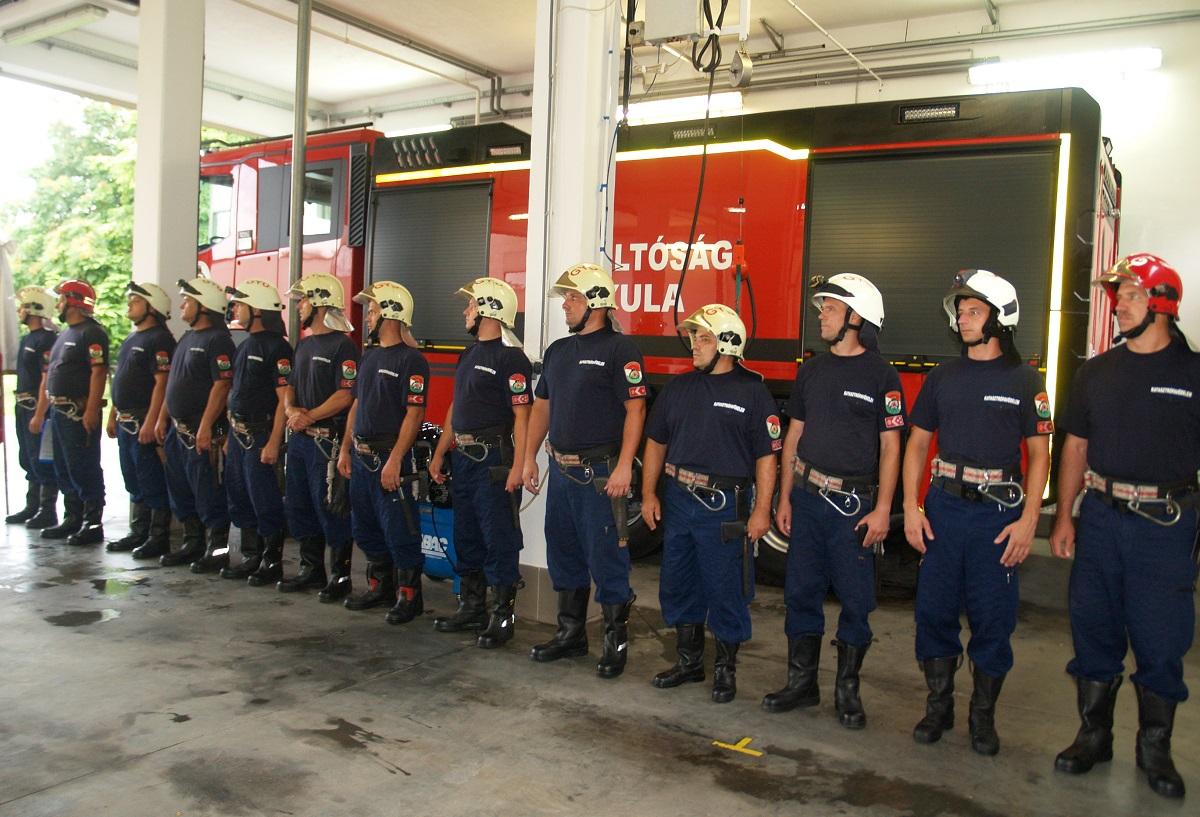 Gyula tűzoltósága új vízszállító gépjárművel bővülhetett
