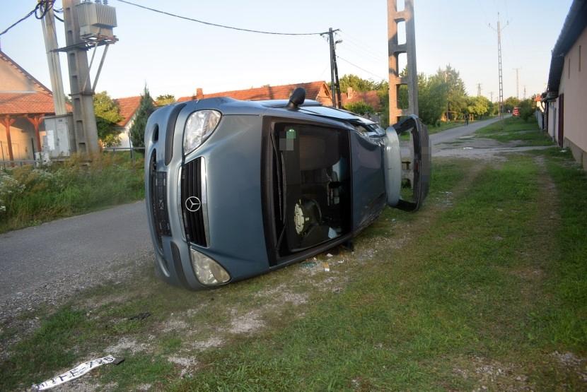 Nyolc közlekedési baleset történt tegnap a megyében
