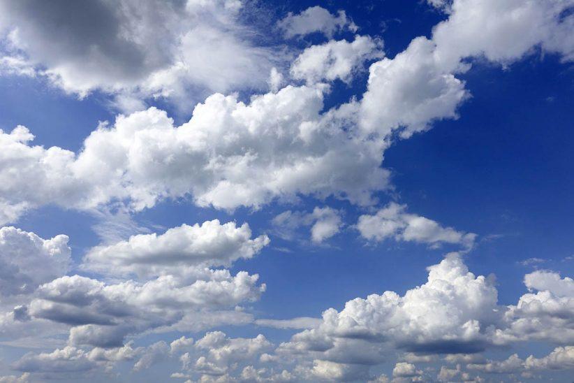 melegszik, szél, felhő, felmelegedés, szárazabb