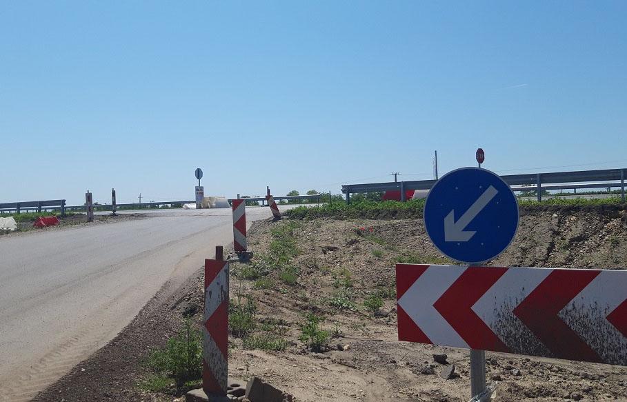 Hamarosan elkészül az M44 gyorsforgalmi út Tiszakürt-Kondoros közötti szakasza