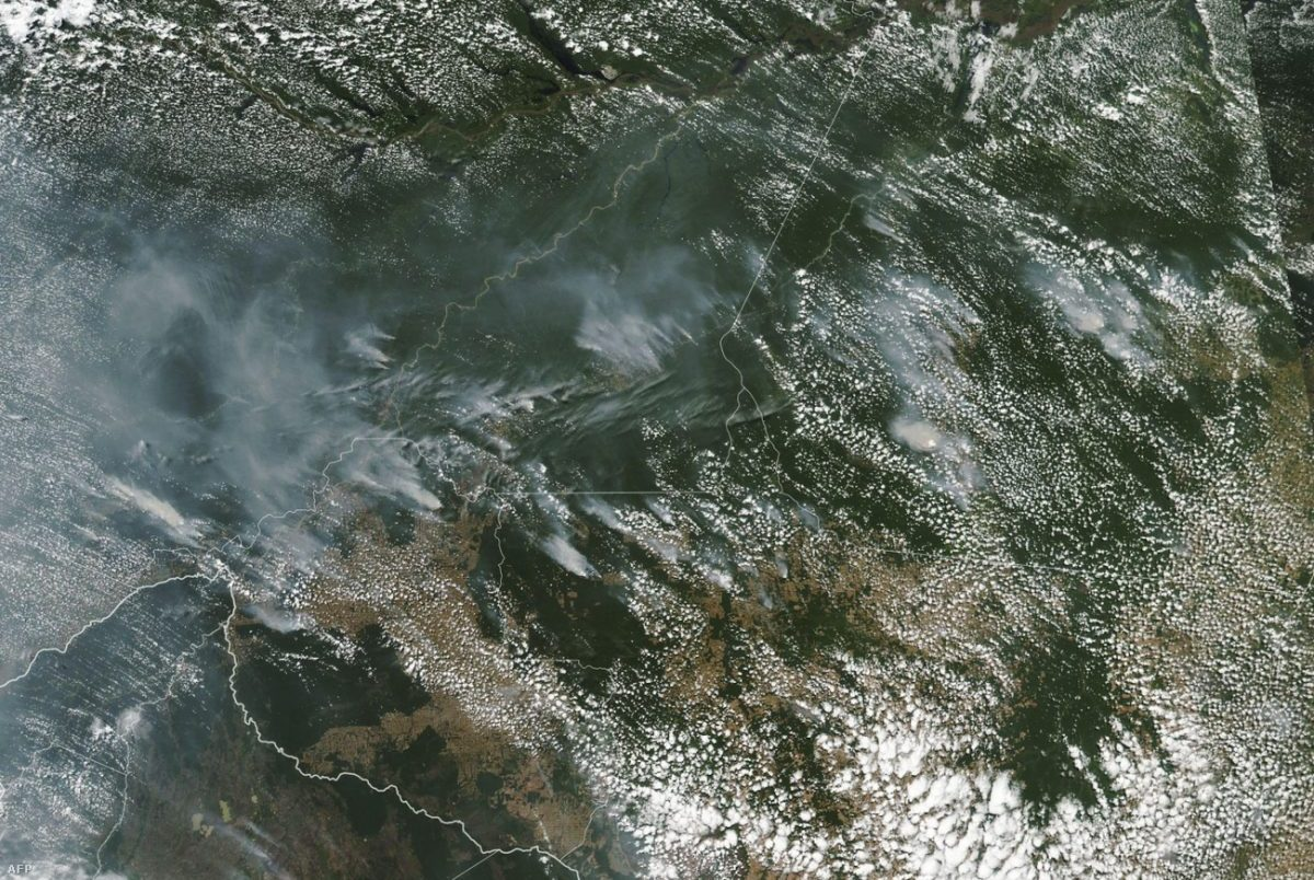 Veszélyben a Föld tüdeje – napok óta lángokban áll az esőerdő