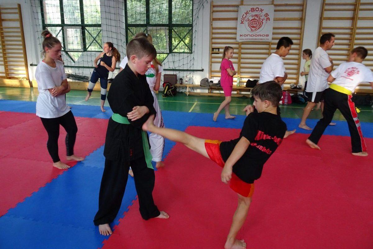 Válogatott kick-box tábor zajlott Orosházán