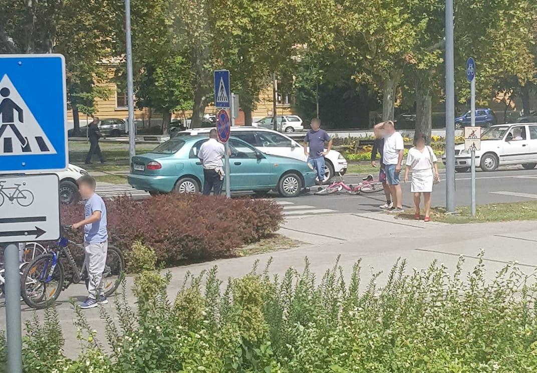 Zebrán ütöttek el három gyalogost Gyulán