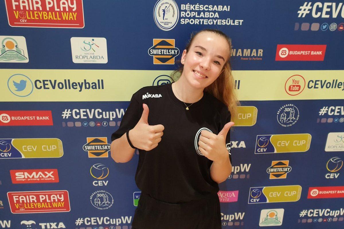 Rády Bogi személyében fiatal magyar játékossal bővült a BRSE kerete