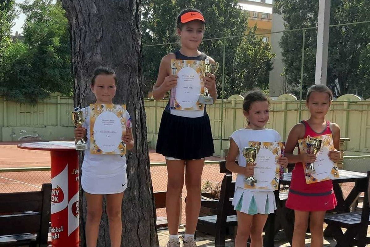 Teniszben is remekel a sarkadi ifjúság