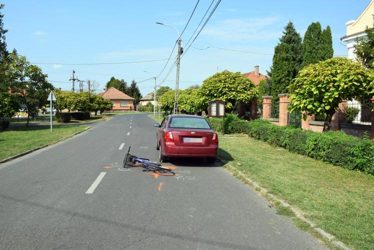 Gyulán két baleset is történt tegnap