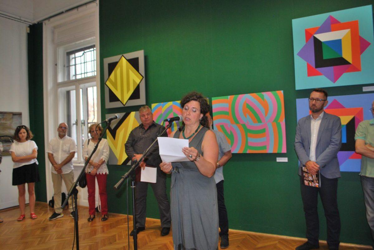 Már látható a nemzetközi művésztelep kiállítása