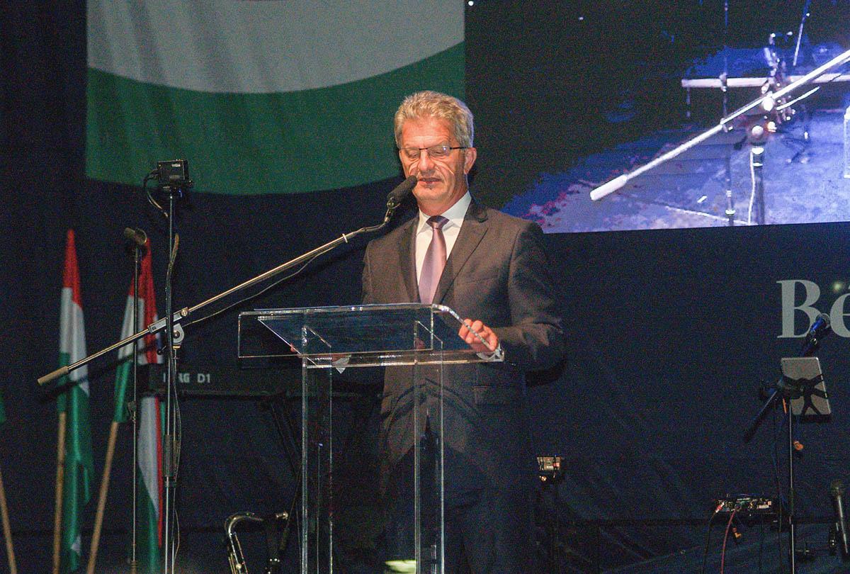 Szarvas Péter köszöntötte Békéscsabát államalapításunk ünnepén