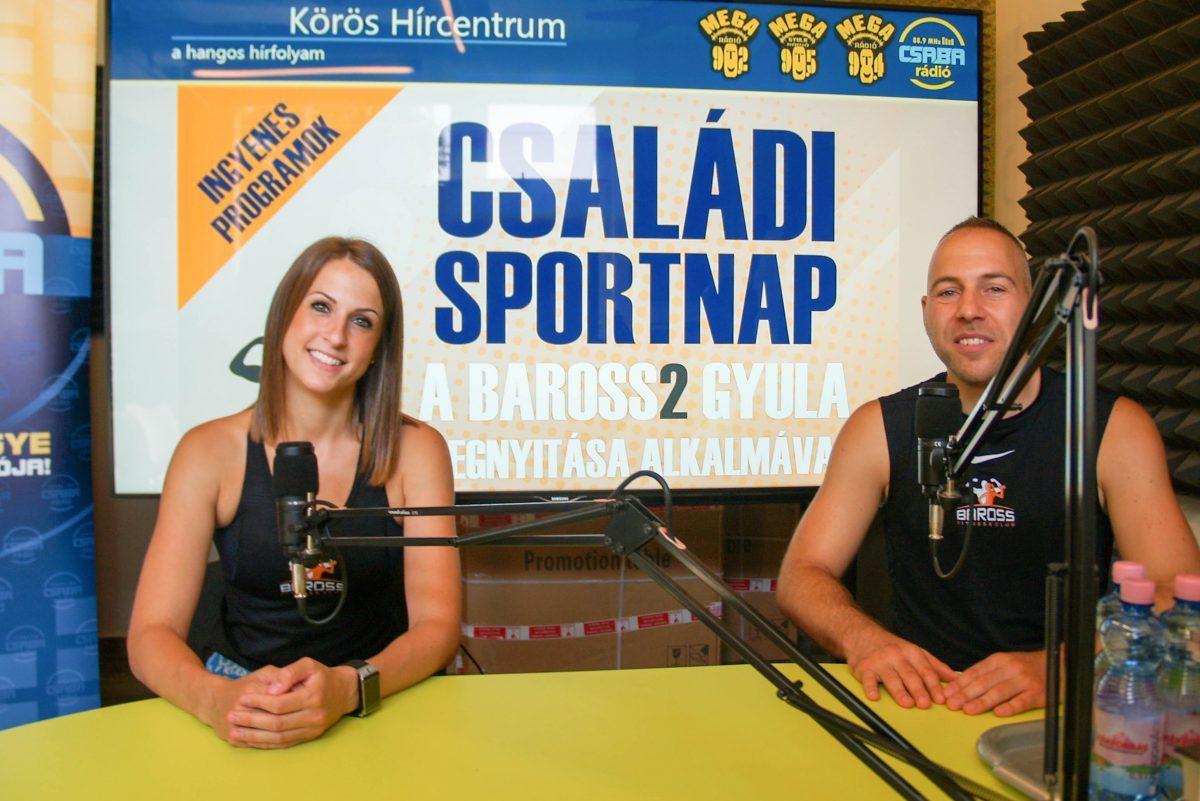 Gyulán egy sportnapon mutatkozik be a Baross Fitness Club