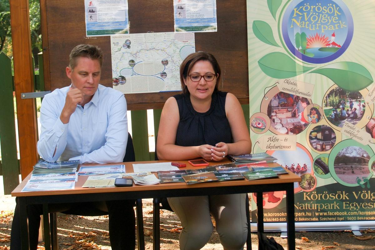 Közös turisztikai programokat szervez a Körösök Völgye Natúrpark és a Túrabarátok