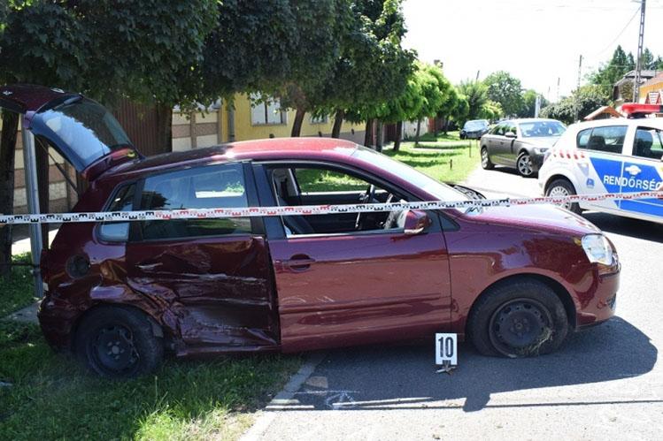 Három baleset, öt könnyű sérült
