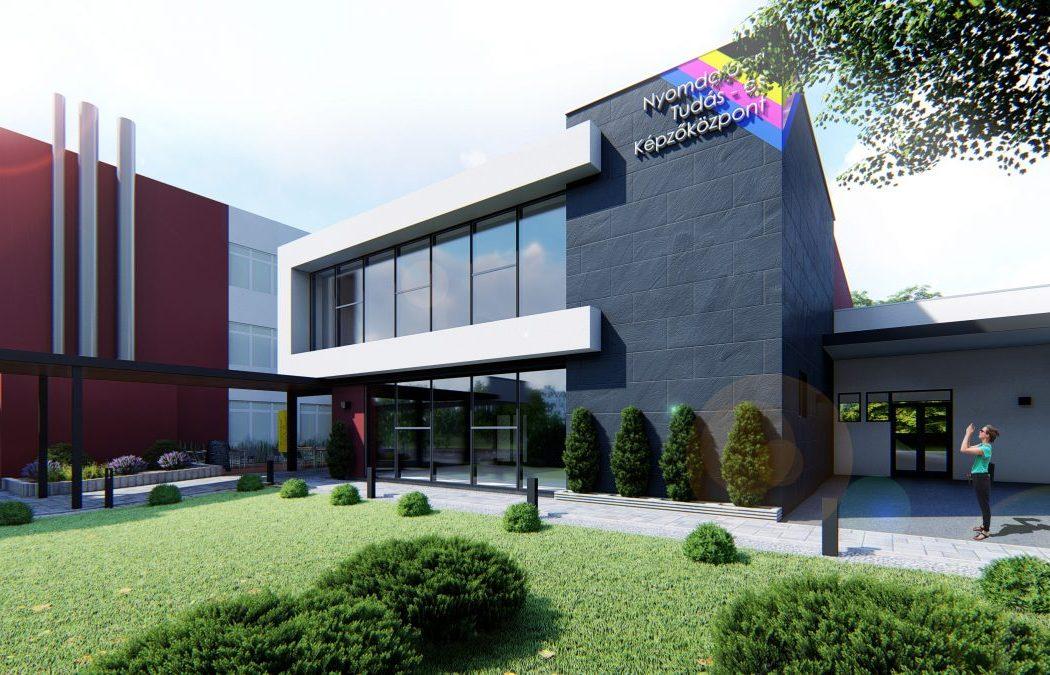 Az új nyomdaipari képzőközpont kiegészíti majd a helyi vállalkozások technológiáit